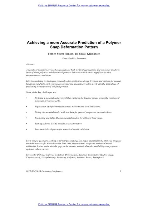 pattern form validation polymer pattern validation achieving a more accurate