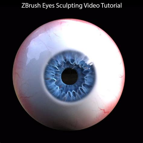 zbrush tutorial eyes sculpting a realistic 3d human eye in zbrush rendering