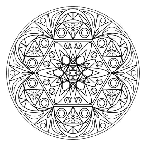 mandala coloring pages vector printable mandala 1 ruthart as a vector in psp