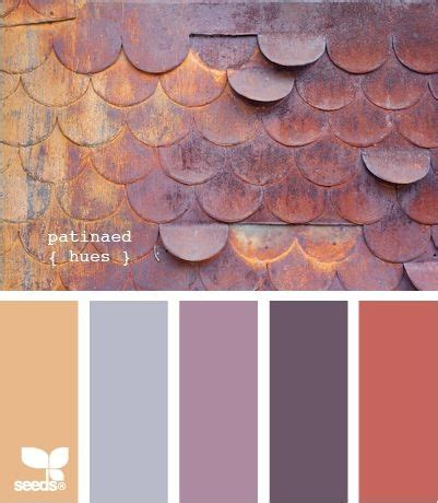 copper color combinations color inspiration love the coral copper peach with the