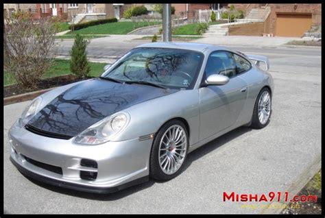 porsche 996 silver misha gt2m wing on porsche 996 c2 silver 3