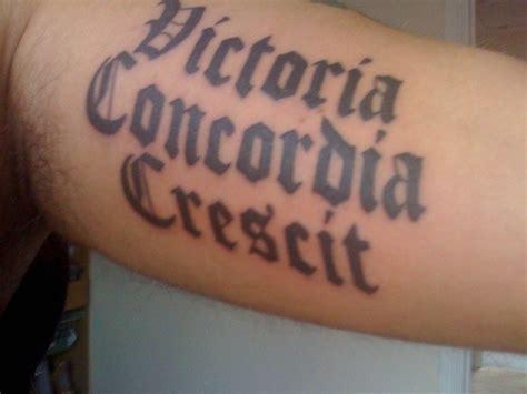 arsenal motto arsenal fc motto quot victoria concordia crescit quot in