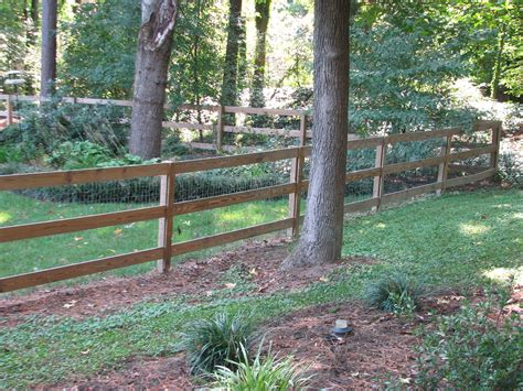 wood wire fence on wire fence fence and fencing 3 board country with wire mesh 171 fence me in richmond