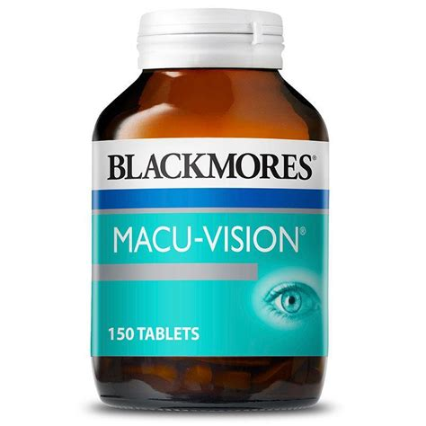 buy blackmores macu vision 150 tablets at chemist warehouse 174