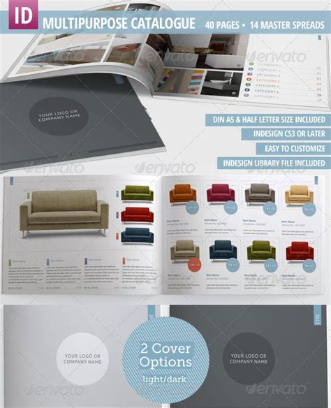 product catalogue template free 23 professional catalog design templates wakaboom