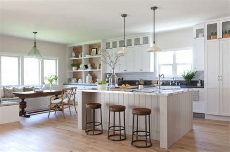 kitchen lighting ideas over table ave a farmhouse kitchen los angeles by kate lester