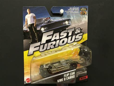 Flip Car Vire O Carro Fast Furious 6 Mattel Fast Furious 6 Flip Car Vire O Carro 2016 3 32