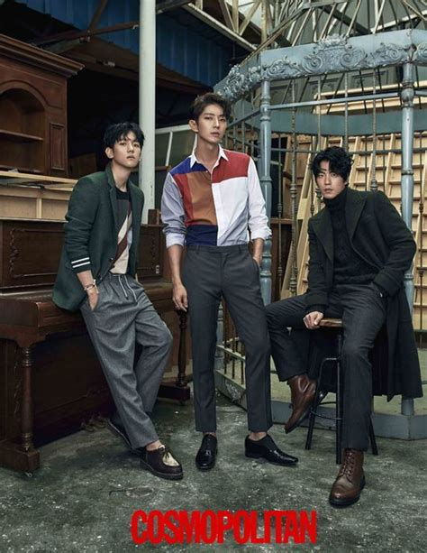 Majalah Korean Drama pemain drama scarlet goryeo berpose untuk majalah quot cosmopolitan quot koreanindo