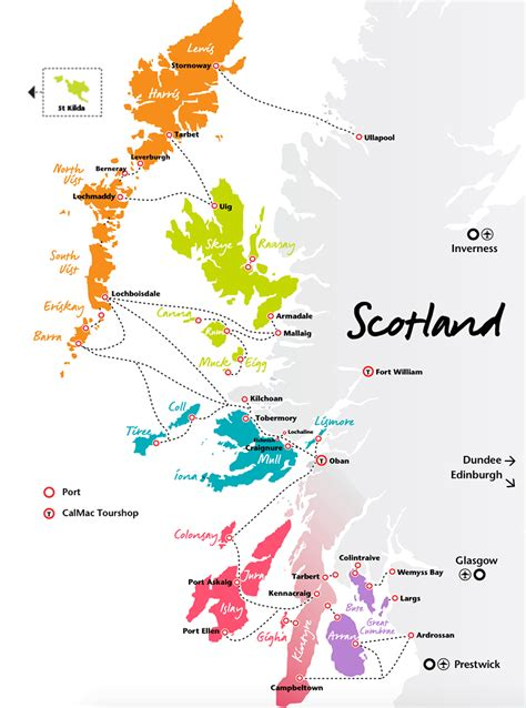 scotland mapping the islands scotland island hopping on the inner hebrides and western isles scotland info guide