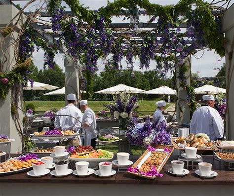 pansy breakfast on pinterest drink stations table a breakfast station featuring delicious pastries and