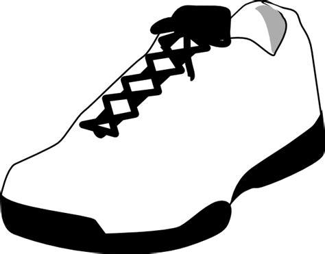 tennis shoe clip cliparts co