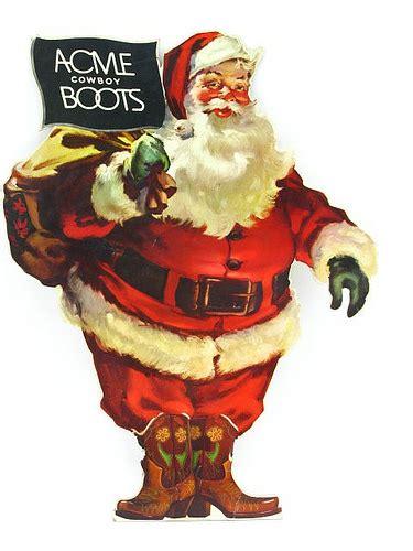 acme boots santa  love cowboy boots