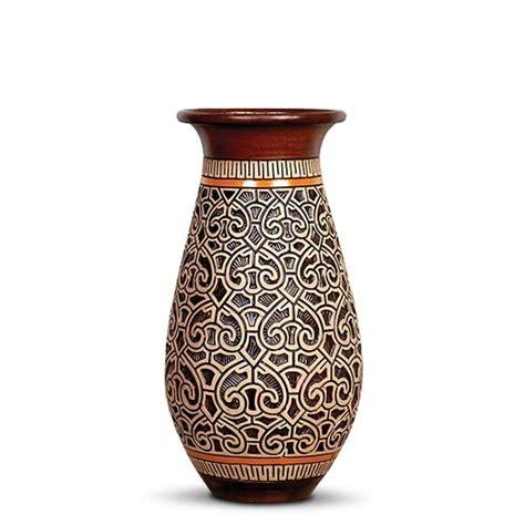 vaso ceramica vaso de cer 226 mica marajoara vaso marajoara floreira p 56cm
