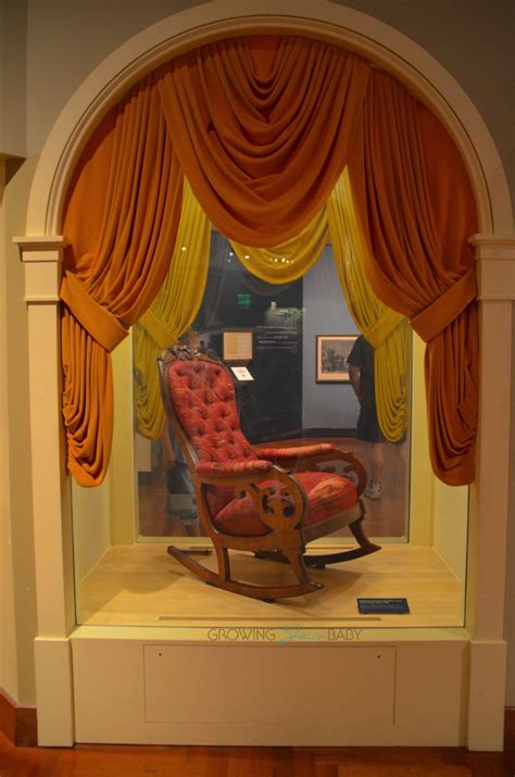 Lincoln Chair Henry Ford Museum by Henry Ford Museum The Chair Lincoln Was Sitting In When