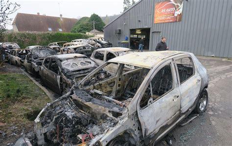 garage nogent sur oise nogent sur oise 26 voitures partent en fum 233 e apr 232 s un