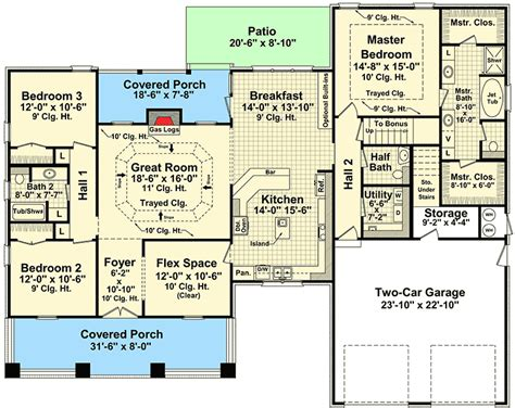 Usda House Plans Beautiful Craftsman House Plan 51043mm 1st Floor Master Suite Bonus Room Cad Available