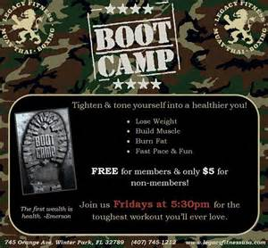 Fitness Boot C Flyer Template by Legacy Fitness Boot C Class Flyer On Behance