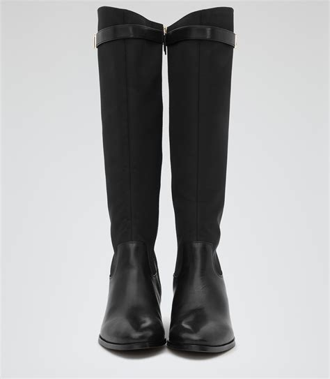 black riding the gallery for gt womens black riding boots