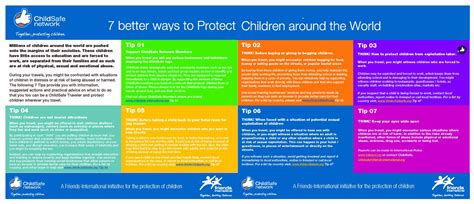 7 Tips On Being A by 7 Tips To Be A Child Safe Traveller From Childsafe