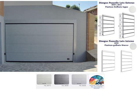 sezionale garage porte sezionali