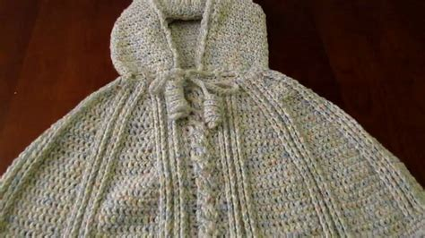 free pattern hooded cape crochet hooded poncho pattern for baby crochet and knit