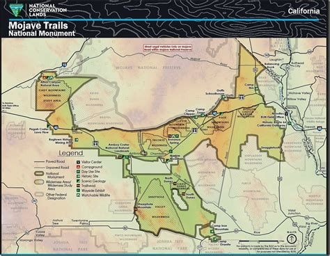blm land texas map lava and flowers at mojave trails national monument amboy crater geogypsy