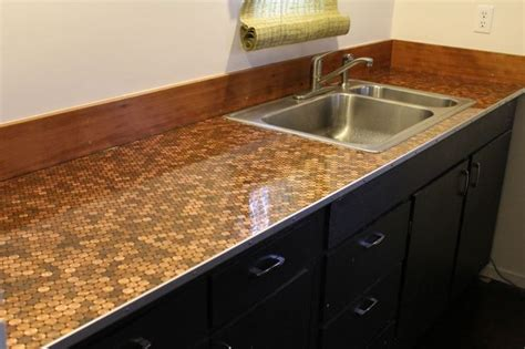 bar top polyurethane best 25 penny countertop ideas only on pinterest bar