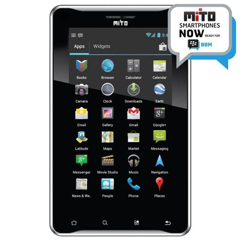 Tablet Mito T720 Second mito t720 tablet android cukup 1 jutaan katalog handphone