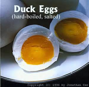 q protein oti telur asin gurih