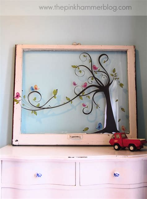 diy home decor use old windows as new photo frames from old window to new piece of wall art simple diy