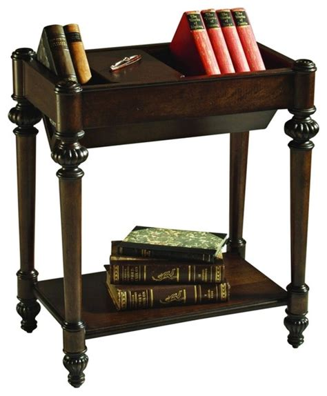 bookcase side table traditional bookshelf top rectangular end table