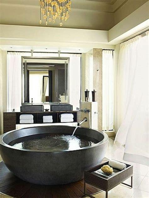 badewanne tief freistehende badewanne rund tief aus beton bathroom