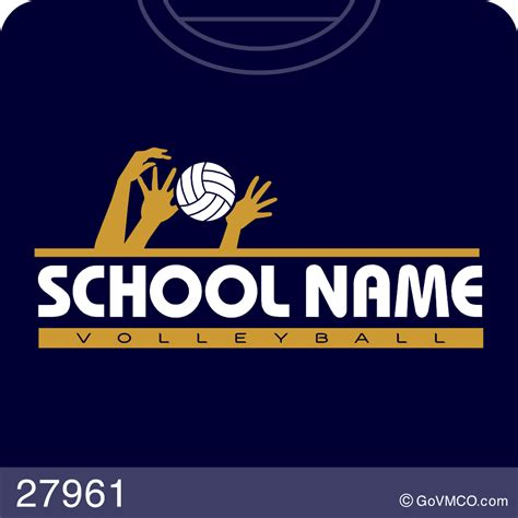 volleyball varsity mascot co custom school and sport