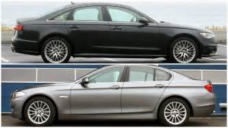 2016 audi a6 vs bmw 5 series