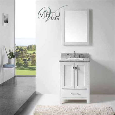 bathroom vanities made in usa 24 quot caroline avenue single sink bathroom vanity by virtu