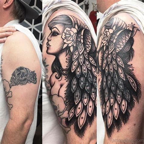 gypsy tattoo for men 82 impressive tattoos on shoulder