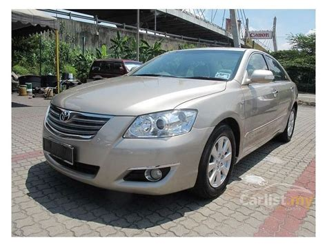 how to work on cars 2007 toyota camry hybrid interior lighting toyota camry 2007 g 2 0 in selangor automatic sedan beige for rm 69 800 2282457 carlist my