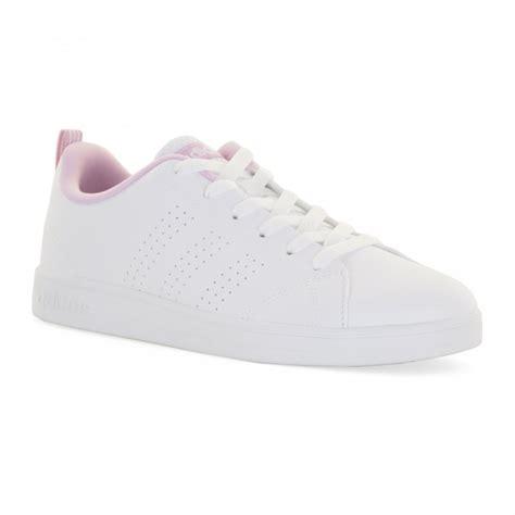 adidas adidas neo juniors advantage clean trainers white