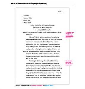 mla template 10 mla annotated bibliography templates free sle