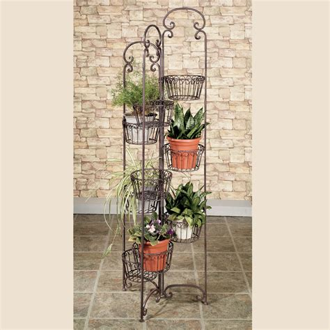 Planter Stands Outdoors by Zaria Plant Stand