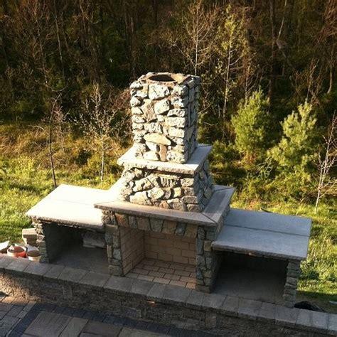 astounding outdoor fireplace kits decorating ideas images