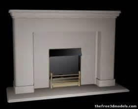 fireplace 3d model 3ds max fbx sldprt