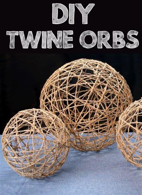 upgrade  room  simple diy twine orbs twine crafts