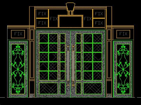 entrance design cad library autocad blocks autocad entrance design cad drawings download cad blocks urban