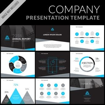 template for business presentation presentation vectors photos and psd files free