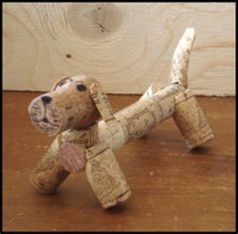 how to make a dog cork ornament details about model wine cork handmade