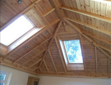 Hip Roof Vaulted Ceiling Inverted Hip Vaulted Ceiling Millwork Like This But