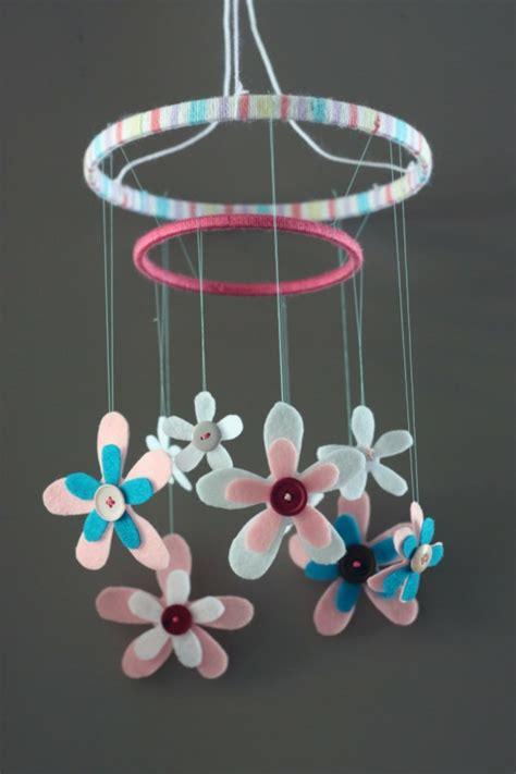 Handmade Baby Mobile Ideas - mobilee basteln bastelideen mit kindern