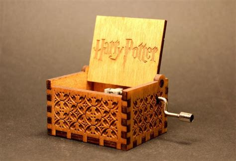theme music action harry potter theme wooden music box