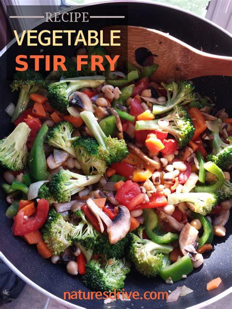 vegetables used in stir fry vegetable stir fry recipe